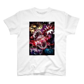 絶叫系ホラー T-shirts