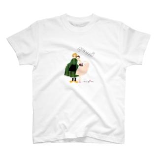 母の日 × バレエ(リーズの結婚) T-shirts