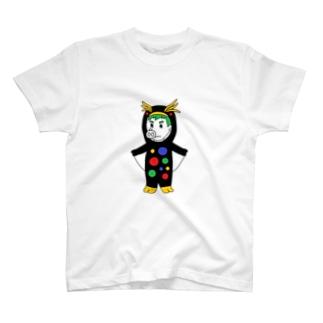カラフルペンペンピッグボーイ T-shirts