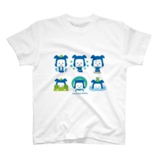 忍者犬たろうくん_忍術A T-shirts