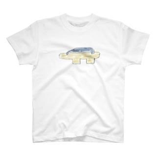 遊庵の下駄 T-shirts
