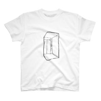 空っぽエレベーター T-shirts