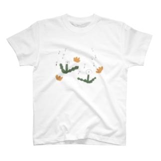 タンポポ T-shirts