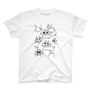 nekoneko! T-shirts