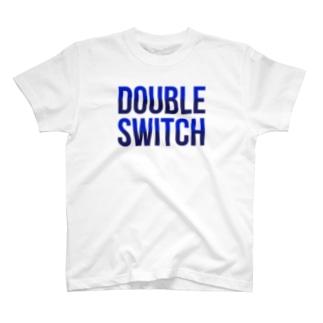 ダブルスイッチTシャツ T-shirts