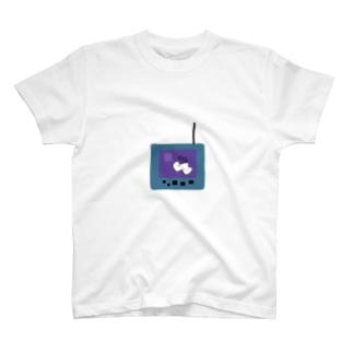 ねっとこわいけどもえるごみてぃしゅくんかわちいね T-shirts