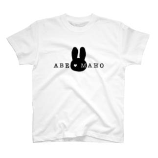 阿部真穂 新ロゴ グッズ T-shirts