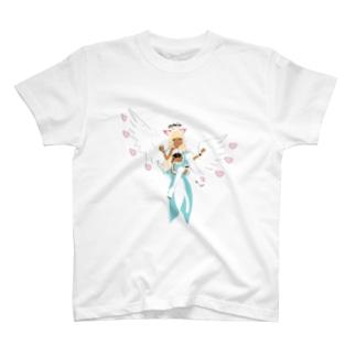 ふわふわもげち T-shirts