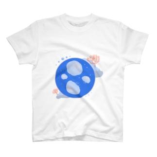 シンプルなミズクラゲ T-shirts