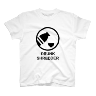 DRUNK SHREDDER T-shirts