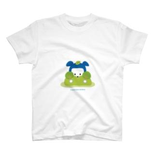 忍者犬たろうくん_隠れ身の術 T-shirts
