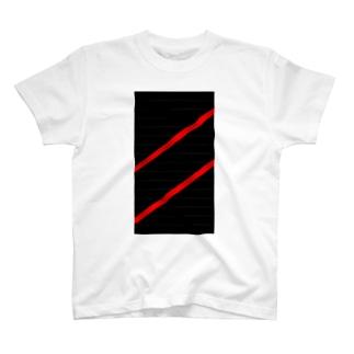 赤線 T-Shirt