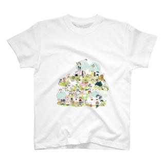 おにぎり祭り2021ver.1 T-shirts
