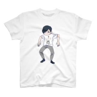無気力すぎてとりこまれたT T-shirts