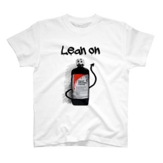 Lean on/依存 T-shirts