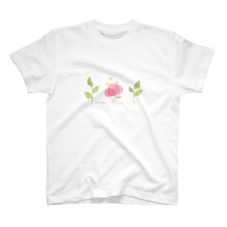 はっぱとおはな T-shirts
