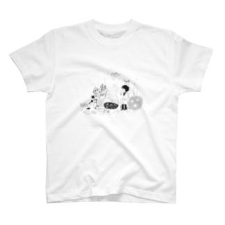 コーヒーと星研究所 T-shirts