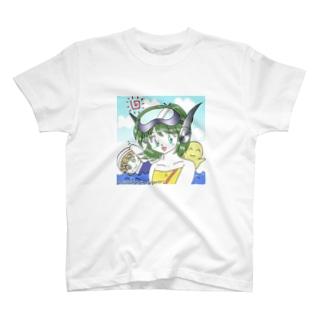 ka子、海へ行く T-shirts