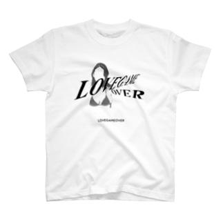 LOVEGAMEOVER T-shirts