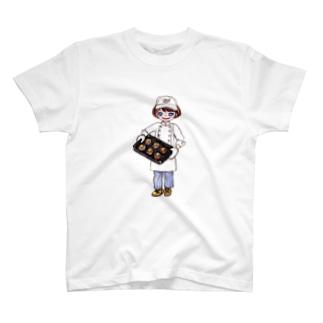 MMパン屋さんの女の子 T-shirts