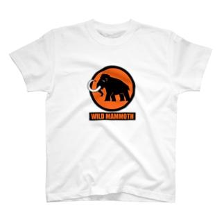 WM Tシャツ 白×オレンジ T-shirts