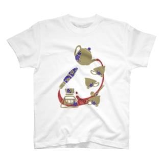 レトロお茶会 T-shirts