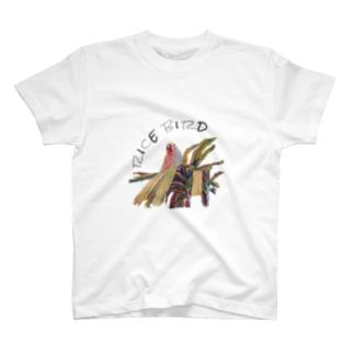 文鳥×pupuland T-shirts