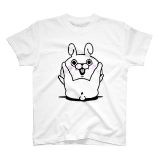 うさぎ100% X Tシャツ