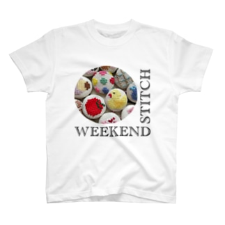 WEEKENDSTITCHロゴ T-shirts