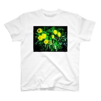 たんぽぽ光 T-shirts