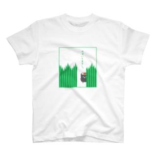 バランとてっかまき T-shirts