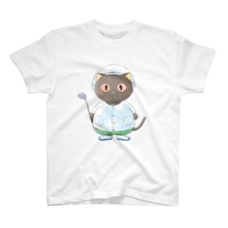 アレルギーっ子チルチル公式グッズ 給食服 T-Shirt