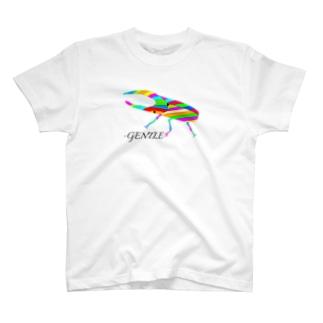 3点限定 ヘラクレスオオカブト T-shirts