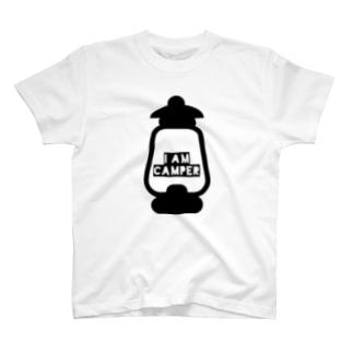I AM CAMPER T-shirts
