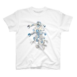 おおかみ男ジャーンプ T-shirts