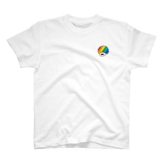ちょびひげブラザーズ アフロ T-Shirt