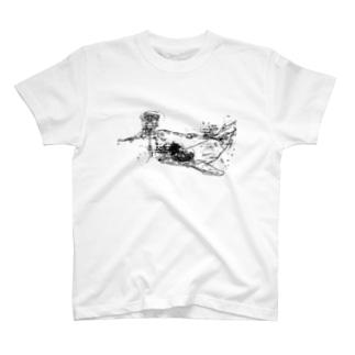 くじらと薔薇 T-shirts