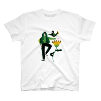 Ran Kobayashiの協調性とシンクロニシティ T-shirts