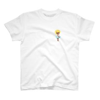 日焼けの少女 T-shirts