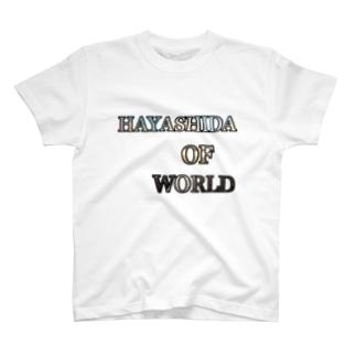 HAYASHIDA_OF_WORLD T-shirts