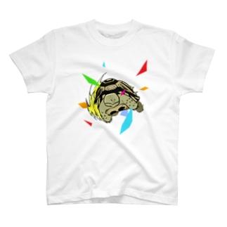 I am Tortoise カラフルT T-shirts