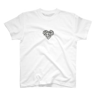 グレーお豆さん♡ T-shirts