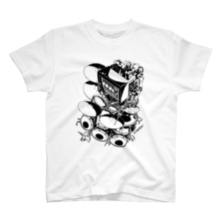 【ROCKOLOID SAULUS】type-DRUMS T-shirts