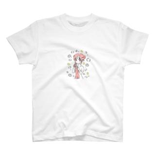 せんとうあがりのおんなのこ T-shirts