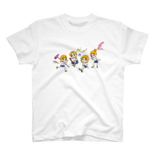 BOOがいっぱい Tシャツ T-shirts