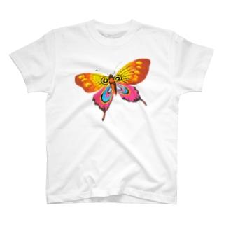 蝶のマグ2 T-shirts