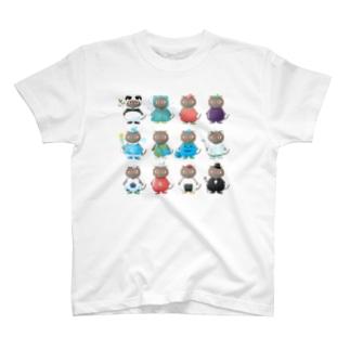 アレルギーっ子の旅する情報局CATのアレルギーっ子チルチル公式グッズ 勢ぞろい! T-Shirt