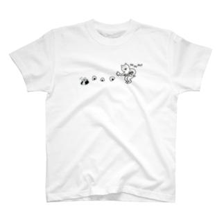 おむすびころりん猫 T-shirts