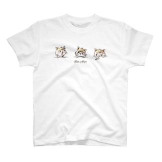 三毛猫むぎ T-shirts