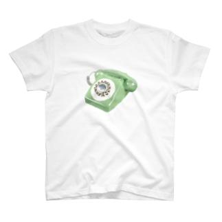 誰かにつながる電話 T-shirts